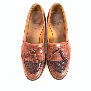 Allen Edmonds size 11 tassel weave loafers
